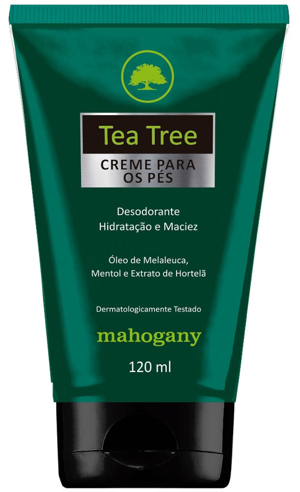 Creme p/ os Pés Tea Tree Melaleuca 120ml