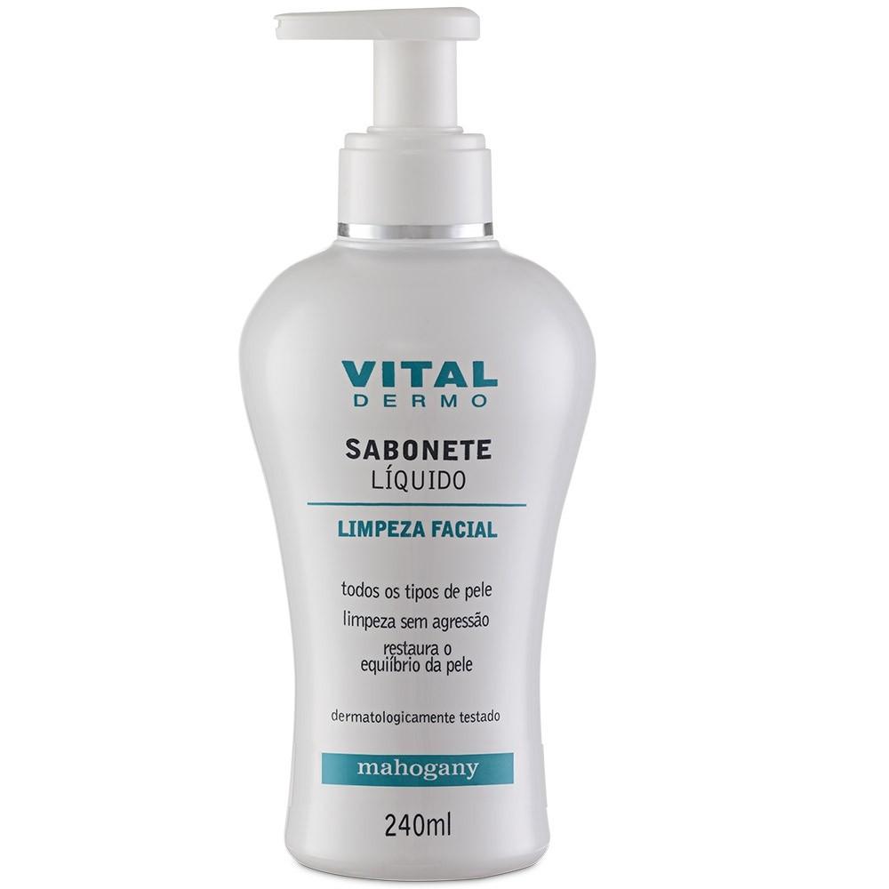 Sabonete liquido Facial VITAL DERMO 240ML
