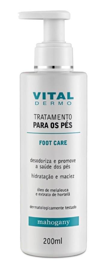 CREME TRATAMENTO PES FOOT CARE VITAL DERMO 200ML