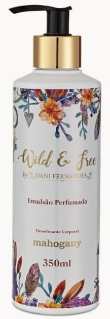 HIDRATANTE LIQUIDO WILD & FREE BY DANI FERNANDES 350ML