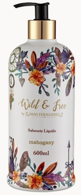 Sabonete LIQUIDO WILD & FREE BY DANI FERNANDES 600ML