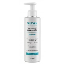 CREME TRATAMENTO PES FOOT CARE VITAL DERMO 200ML